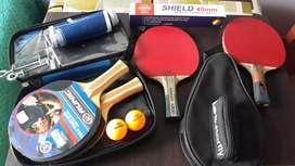 Combo para tenis de mesa (ping pong)