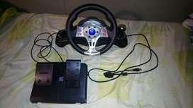 Vendo volante para Play 2, 3 y Pc