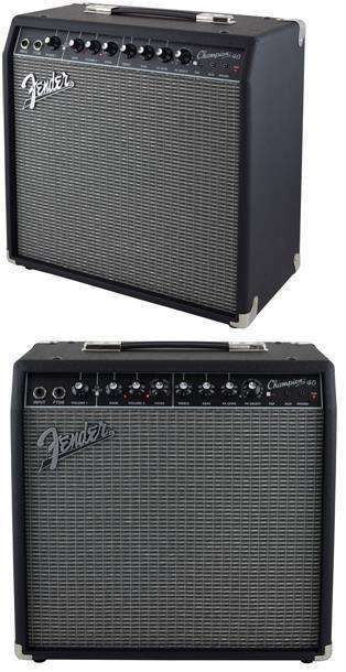 Amplificador Fender Champion 40w 0
