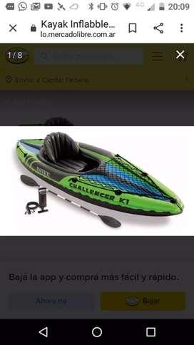 Vendo kayak k1 nuevo
