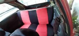Venta de carro mazda QP rojo en muy buen estado.