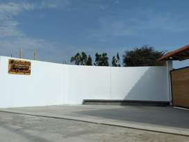 VENTA DE LOTES CAMPESTRES de 1000 m2 a 10 min del ovalo de HUACHO. En Av. CENTENARIO