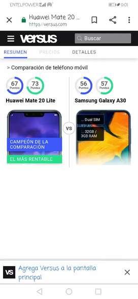 Huawei 20 lite 9 de 10