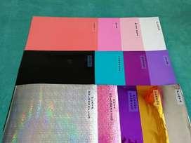 Pack Vinil X 10 Colores Plotter Cameo Decoracion Copas Tazas Globos Manualidades