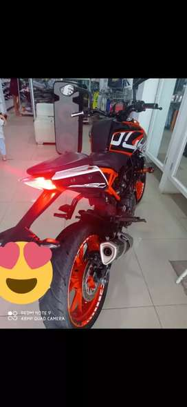 MOTO KTM 250 DUKE NG