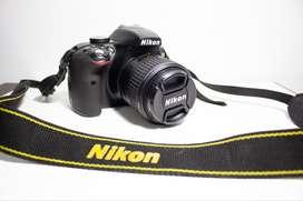 Cámara Nikon D3300 Usada.