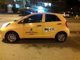 Vendo taxi Kia ion 2017 full equipo
