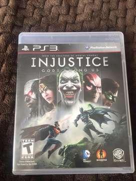 Injustice para PS3 ( Físico)