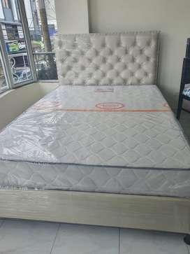 Hermosa cama tapizada ( Pidela en la tonalidad de tu agrado )
