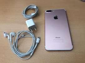 Vendo iphone 7 plus 128gb rose