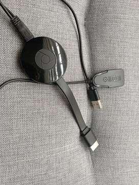 Ganga Vendo o cambio Chromecast Smart tv