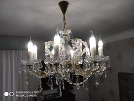 Lámpara de cristal Bohemia