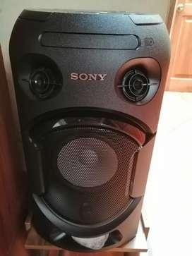 Torre de sonido sony v21d, nueva.