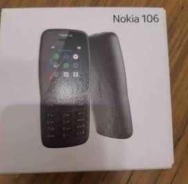 Nokia 106 para llamadas. nuevo aceptamos tarjetas
