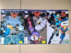 Comics Batman Superman Bizarro y Batzarro