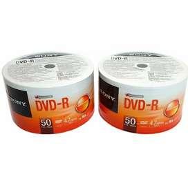 Sony 100 DVD-R 16X 4.7Gb, delivery gratis