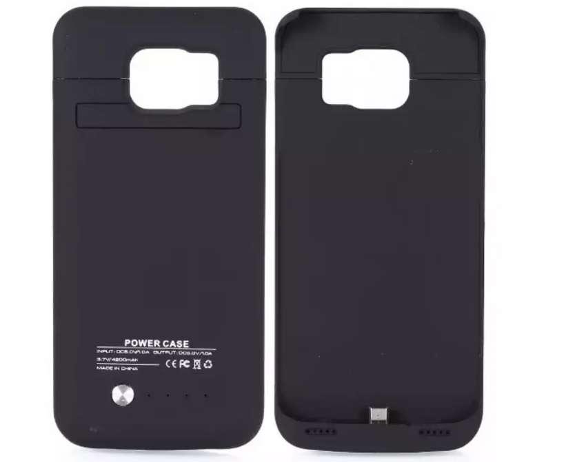 Estuche Bateria Externa Case Samsung Galaxy S6 Edge 0