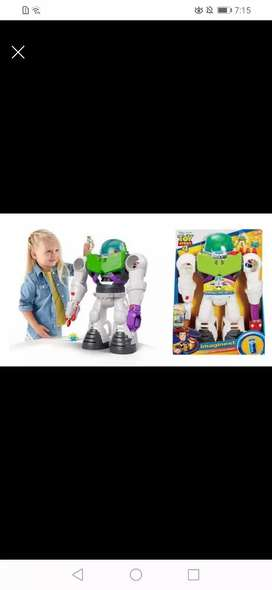 Robot buzz de toy story
