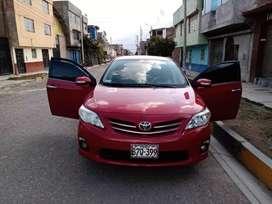 Se vende Toyota corolla 2011 de uso ejecutivo.