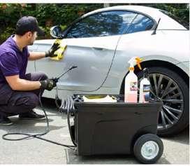 Alistador o lavador de autos