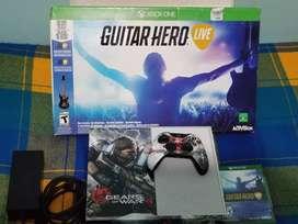Xbox One 500GB más Guitar Hero juego completo