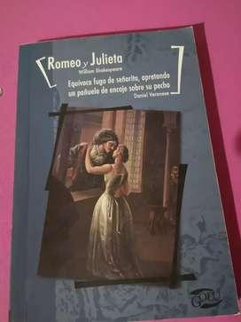 Libro ROMEO Y JULIETA de Shakespeare