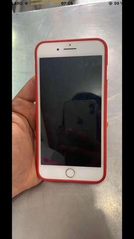 Iphone 8 plus de 64 gb (flamante) entrego con su cargador original y protector