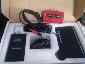 Monitor personal Talkstar Wpm 200 + interface de audio Behringer uca222