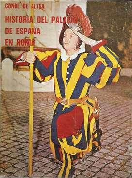Libro Historia Palacio España En Roma Conde De Altea(1972)