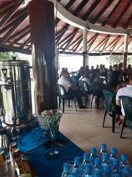 ESTACIONES DE CAFE  & AGUA PARA  TUS  EVENTOS