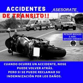 ESTUDIO JURÍDICO - ACCIDENTES DE TRANSITO
