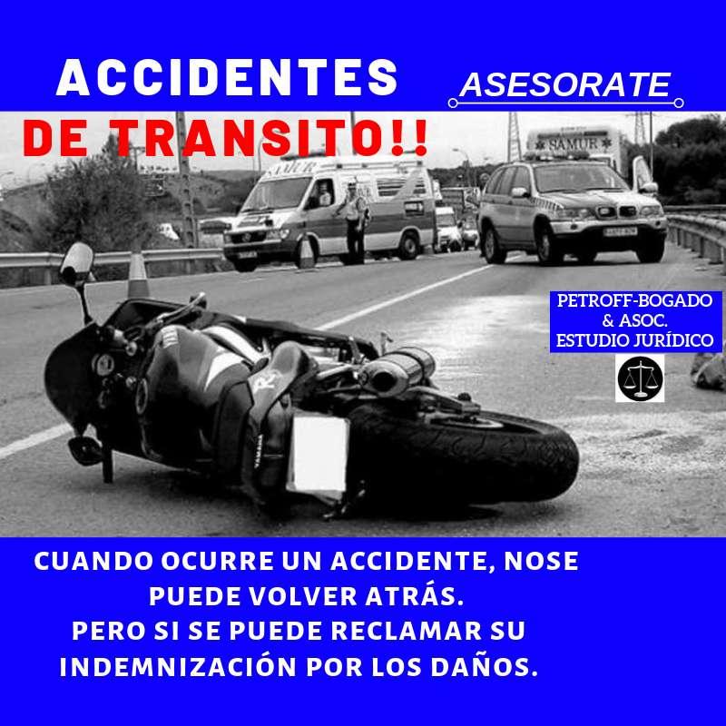 ESTUDIO JURÍDICO - ACCIDENTES DE TRANSITO 0
