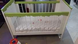 Cuna para bebe unisex completa