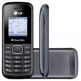 LG BASICOS 220 SIMILAR NOKA 1100 SOLO SMS Y LLAMADAS! CONSULTAR PRECIO POR 10+ TARJ 12/18