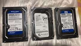 Discos duros 500Gb