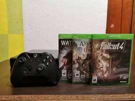 Xbox One (500GB) + 8 juegos (Cambio por Iphone)