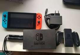 Nintendo Switch Standard ( Rojo Neón y Azul Neón)