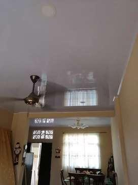 Instalacion de techos en drywall y pvc acabados en general
