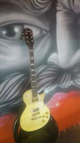 Guitarra electrica les paul crimson