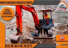 ALQUILER DE MINIEXCAVADORA, SOBRE ORUGA, EXCAVADORA SOBRE LLANTAS CON MARTILLO HIDRÁULICO, BRAZO EXCAVADOR, 99202188