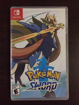 Pokemon Espada Nintendo Switch Sword impecable