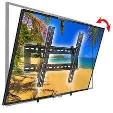 Soporte de pared inclinable de alta calidad para televisores LCD LED 0