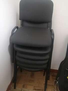 Remate de sillas de espera