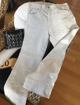 Pantalón YAGMOUR Jeans talle 32 Beige