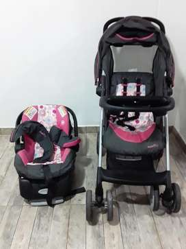 Coche / porta bebé / silla para carro