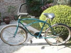 bicicleta playera ruedas anchas