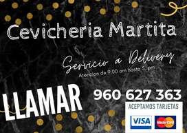 DELIVERY: CEVICHE, CHICHARROZ Y ARTOZ CON MARISCO