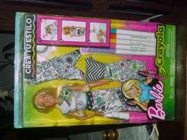 Barbie Crayola