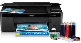 Instalación de sistema de recarga a Impresoras