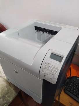 Impresora láser HP Blanco Y Negro
